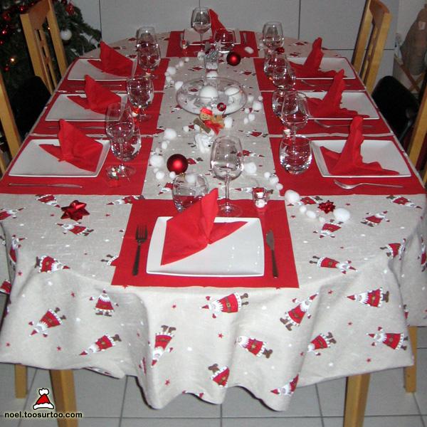 Idee Deco Table De Noel Rouge Et Blanc Exactjuristen